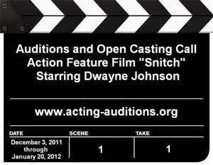 Snitch Auditions Open Casting Call