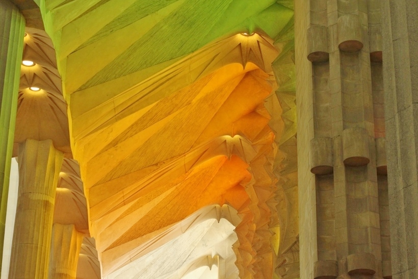 Sagrada Familia Colours