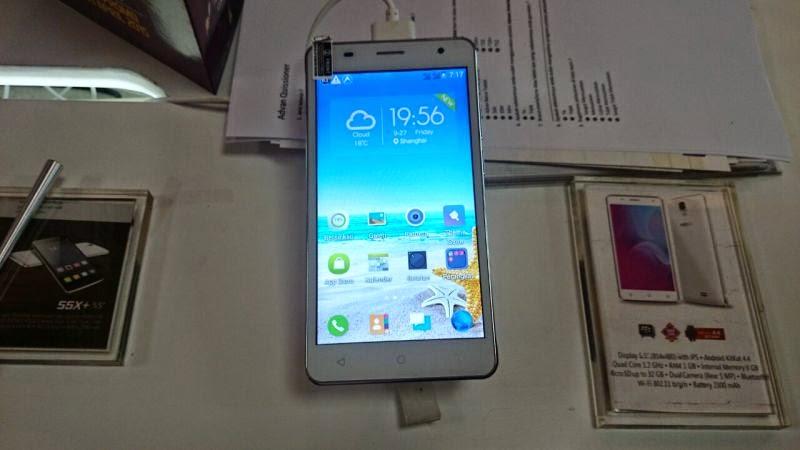 Advan Starnote S55, Smartphone Voice Typing Seharga Rp1,4 Jutaan