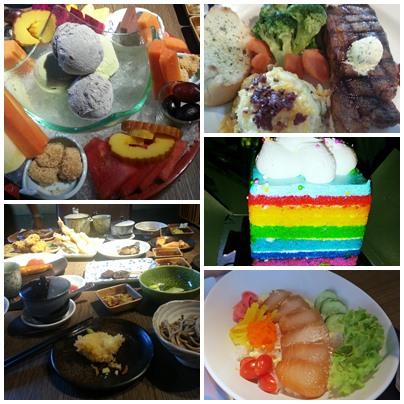 Various food