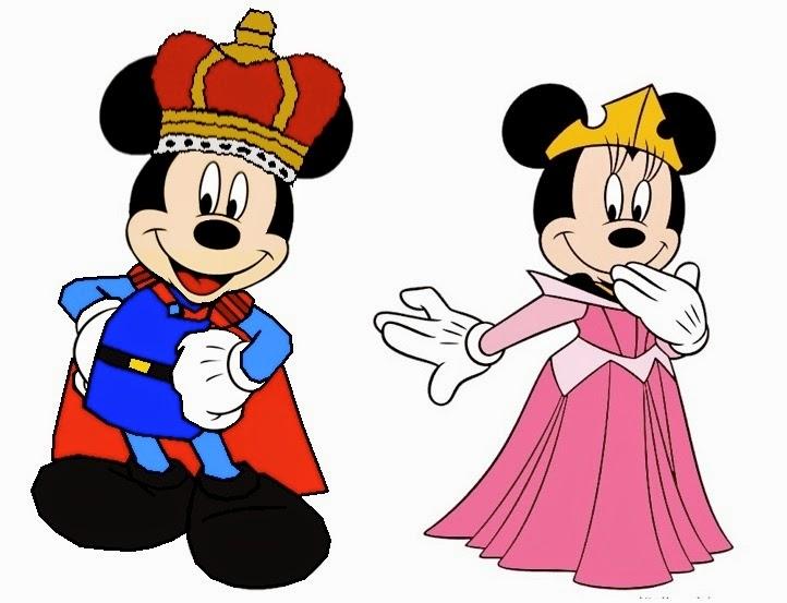 Imagens Mickey e Miney