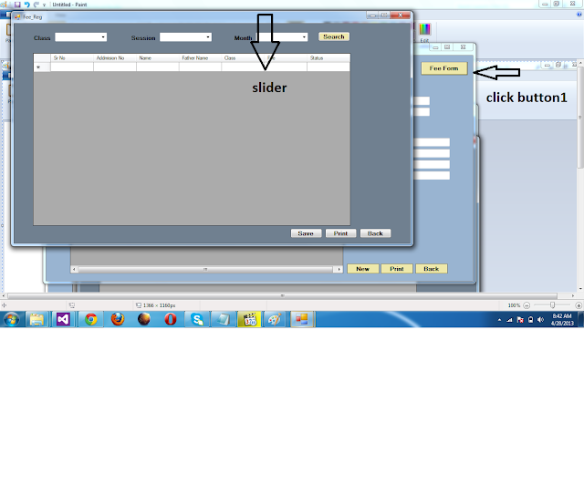 how to make slider in c#