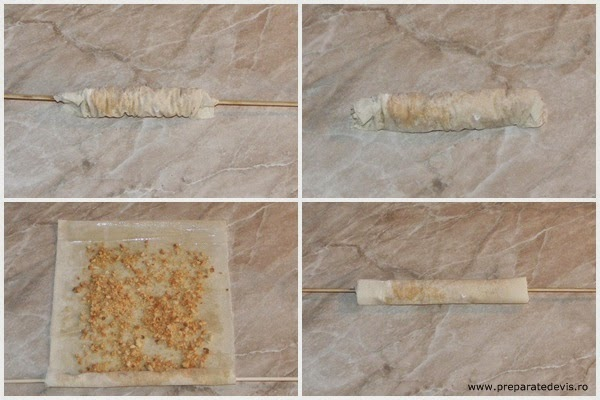 sarailie preparare, preparare sarailii, retete sarailii sau baclavale turcesti, cum se fac sarailii si baclavale, cum se prepara sarailie,