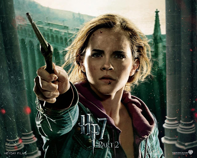 Emma Watson in Harry Potter and the Deathly Hallows: Part II