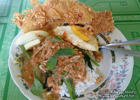Kuliner Malang - Sarapan di Pecel Kawi