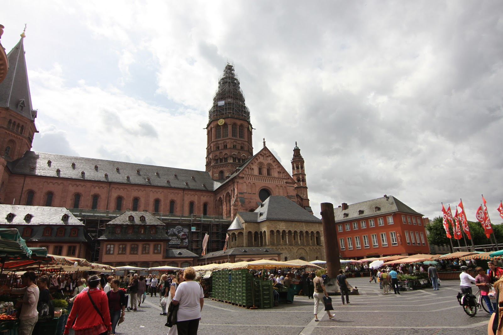Mainz Germany  city photos gallery : EUROPEAN CATHEDRALS: MAINZ, GERMANY