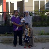 Saat indah bersama keluarga kecilku