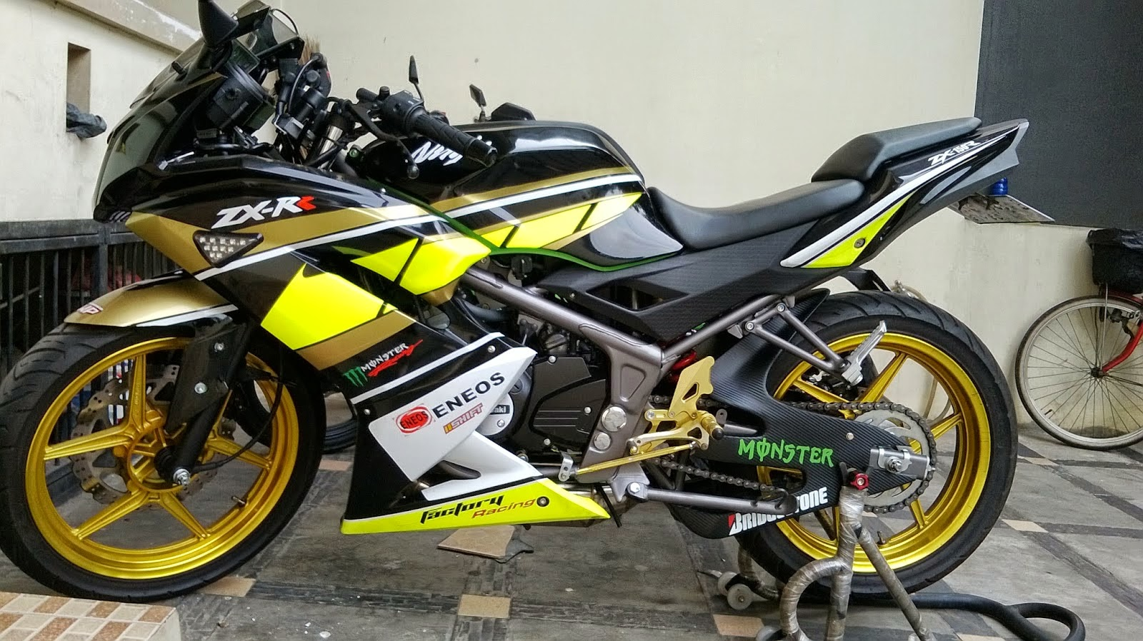 Modifikasi Ninja RR 2014
