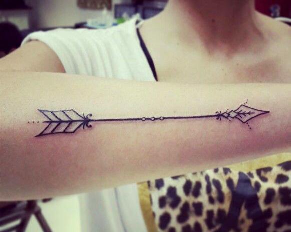 All tattoo ladies ideias de tatuagem feminina de flechas arrow - Fleche tatouage signification ...