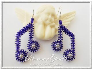seed bead earrings beaded jewelry blog beadwork peyote notes