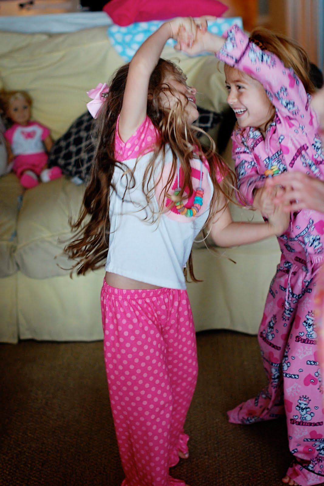 Pancakes And Pajamas Party A Small Snippet