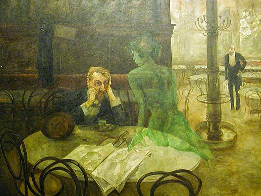 Piják absintu (El bebedor de absenta, 1901)