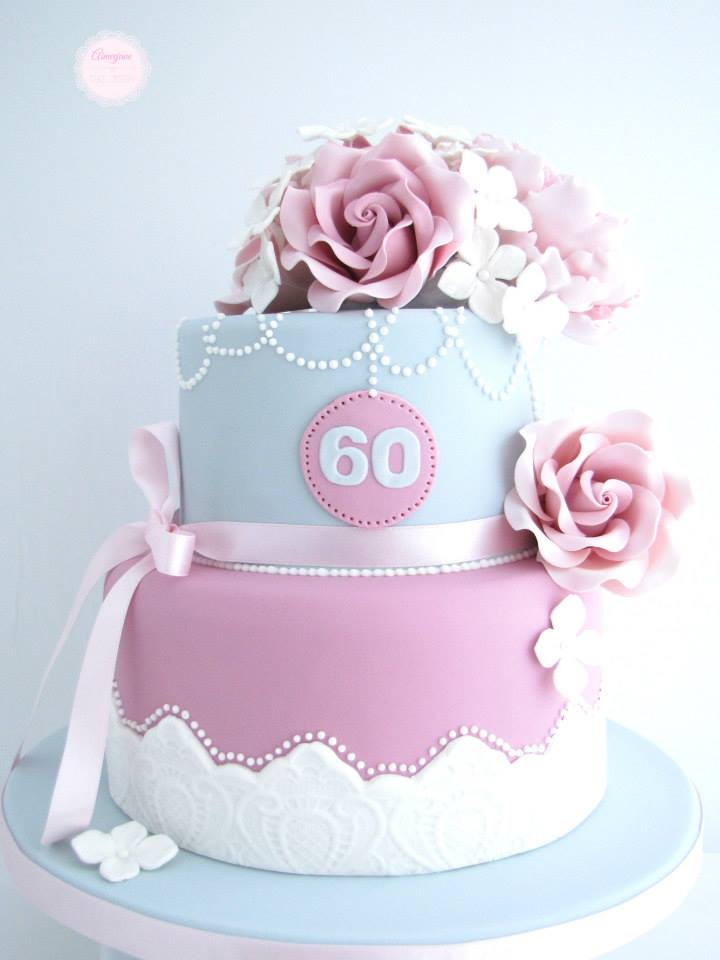 60th Birthday Cake Ideas - Crafty Morning