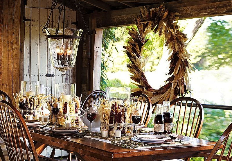 Via Pottery Barn & Happyroost*: Thanksgiving Table Setting Ideas