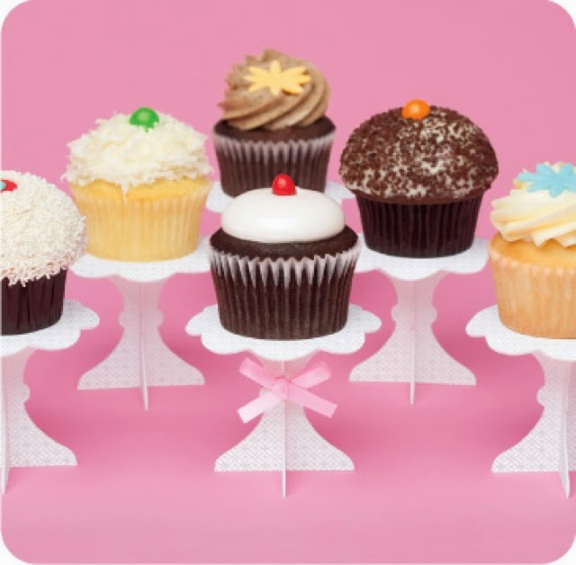 Mini Stand para Cupcakes, para Imprimir Gratis