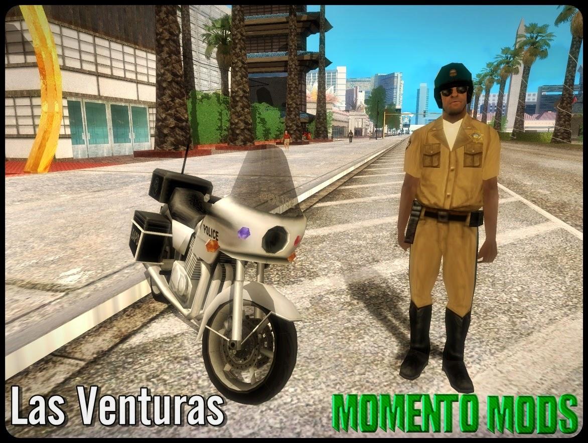 GTA SA - Cop Bikers Overhaul