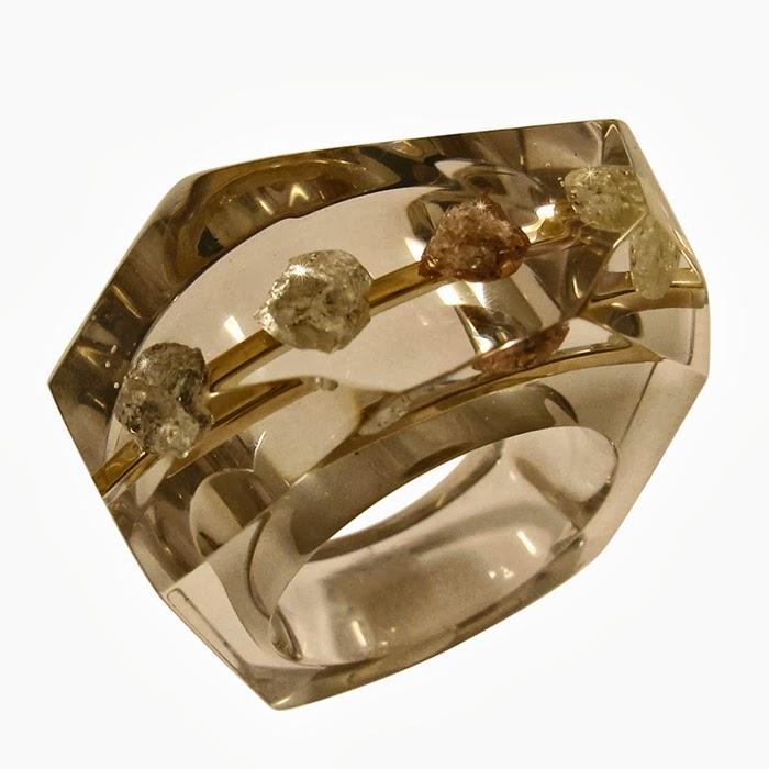 African Wedding Ring 30 Fresh Situ Organic cut diamonds