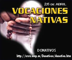 Donativos Vocaciones Nativas 2015