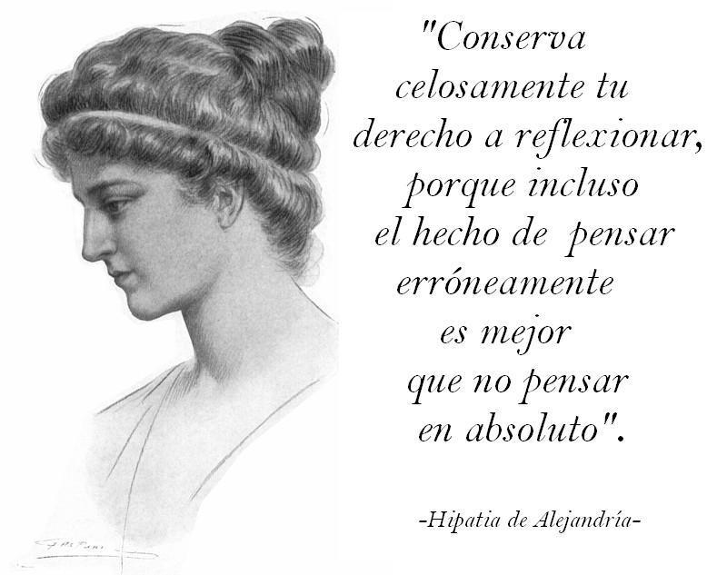 HIPATIA de Alejandria.. Hipatia