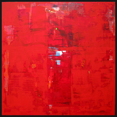 Abstract art painting wallpapers background ideas images for Red canvas painting ideas
