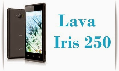 Lava Iris 250: 4-inch,1GHz dual core, Android Jellybean Phone Specs, Price