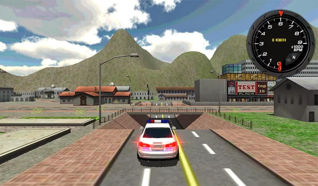 Police Car Driver 3D Android Apk Oyun resimi 1
