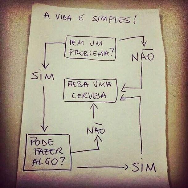 A vida é simples!