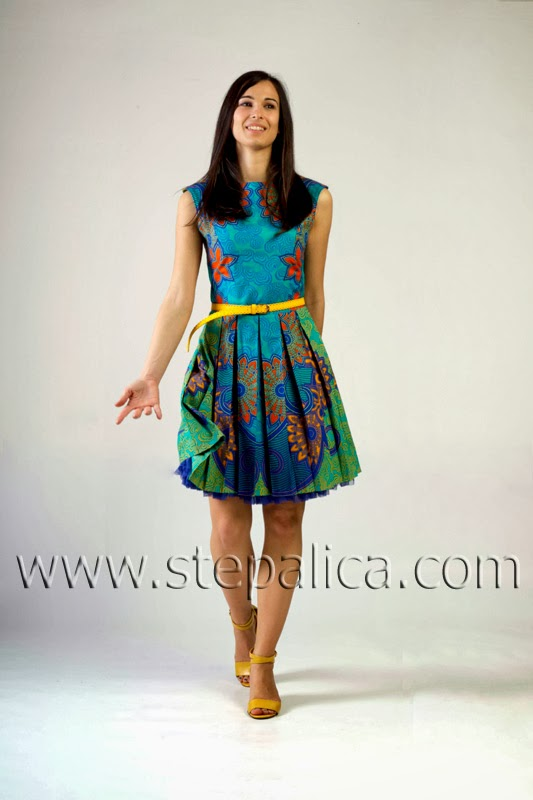 Štepalica: The VLISCO dress