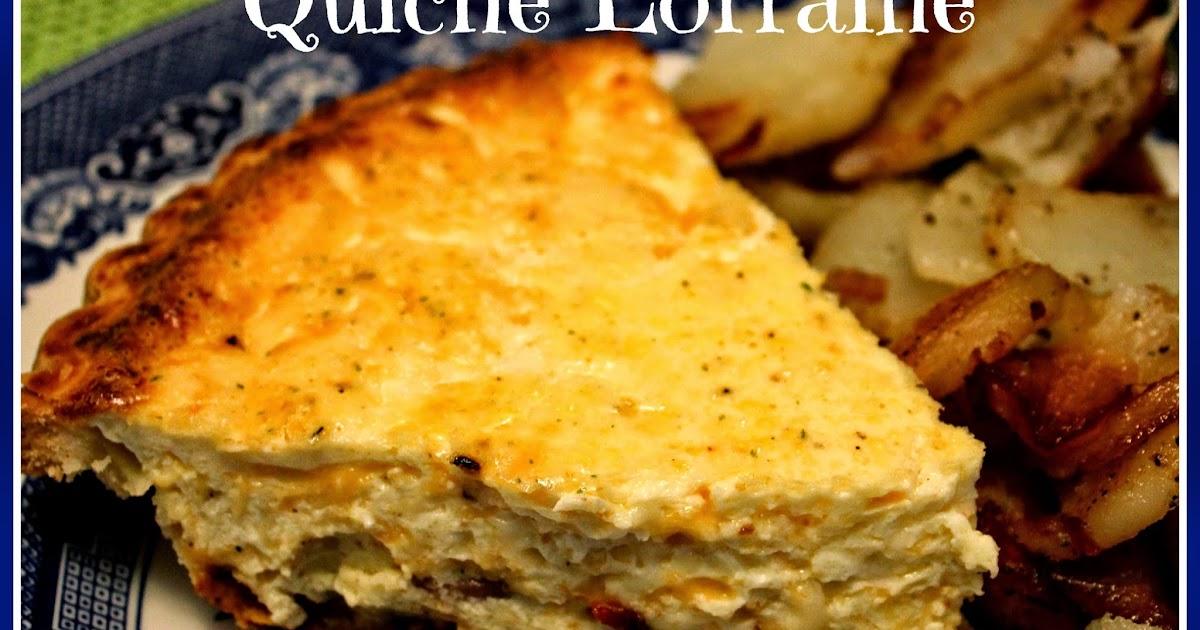 how to make quiche lorraine