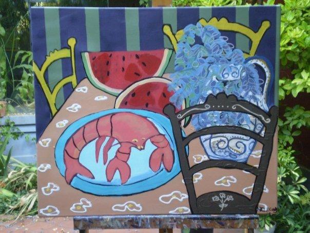 Pinturas de milagros guisasola for A table tout le monde