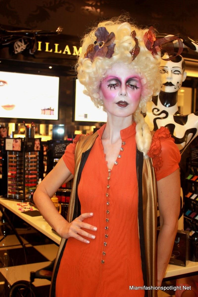 Viviana Gabeiras, Nikki Oxley and Athina Klioumi Teamed up for Illamasqua's make-up class at Bloomingdales