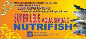 SUPERLELE probiotik ikan lele dan obat ikan lele