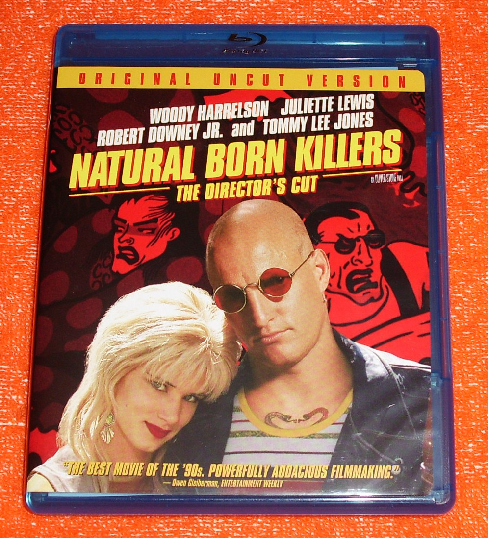Oinotna7's dvd collection: Natural Born Killers - BD CA