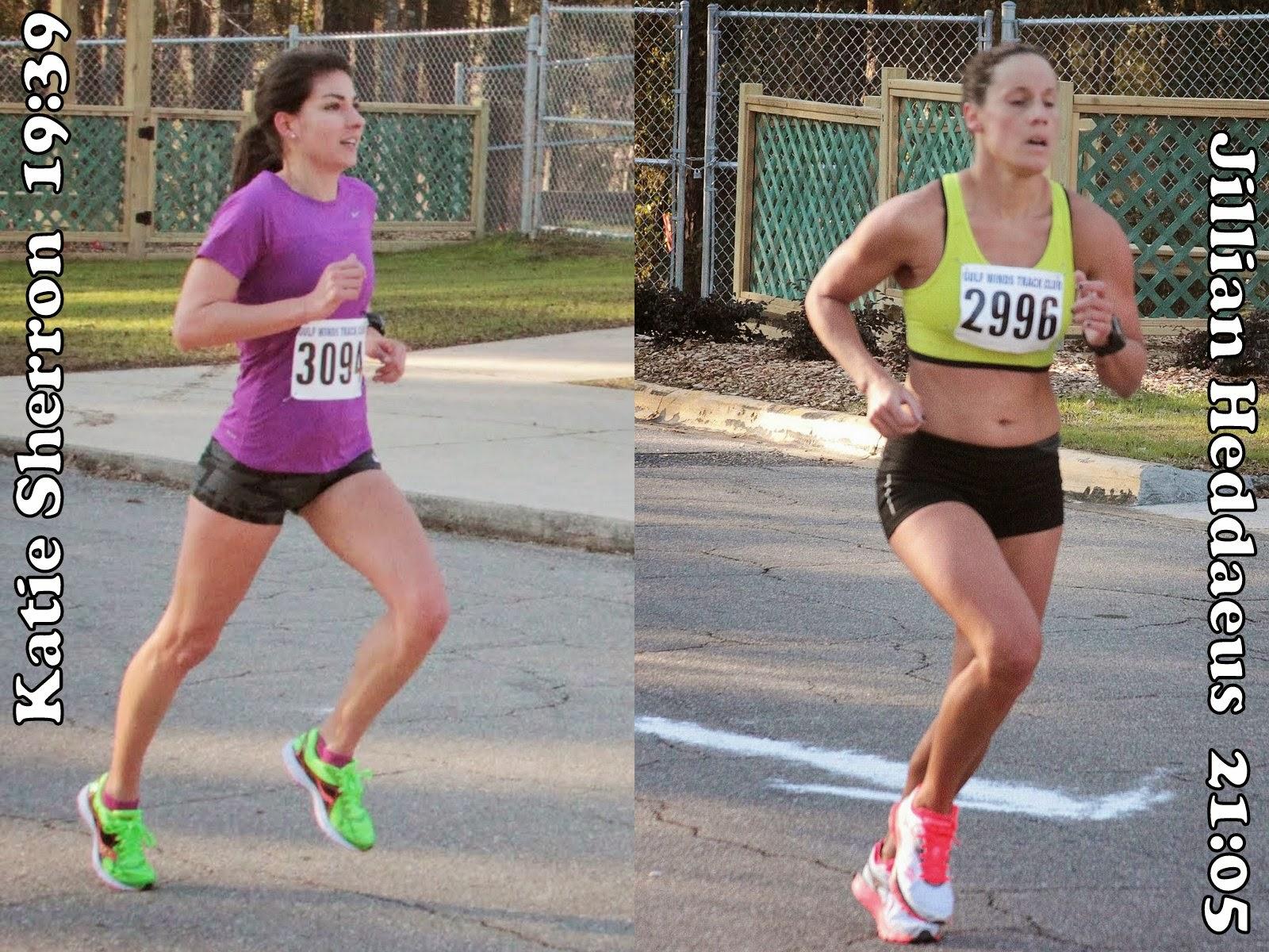 Katie Sherron and Jillian Heddaeus