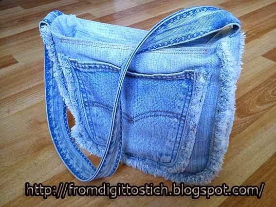 вторая жизнь джинсам