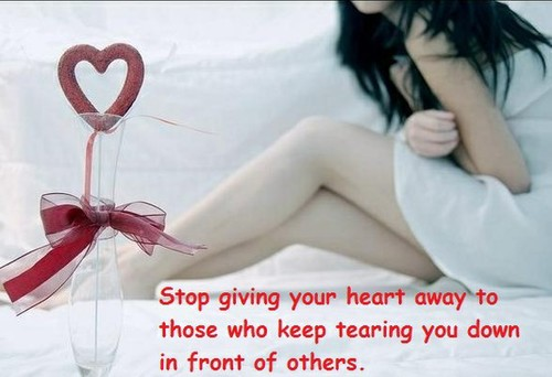 heart away: