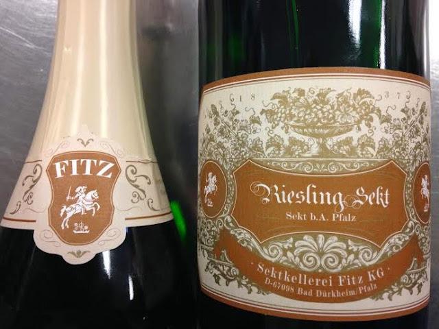 Fitz-Ritter Riesling Extra Trocken Sekt