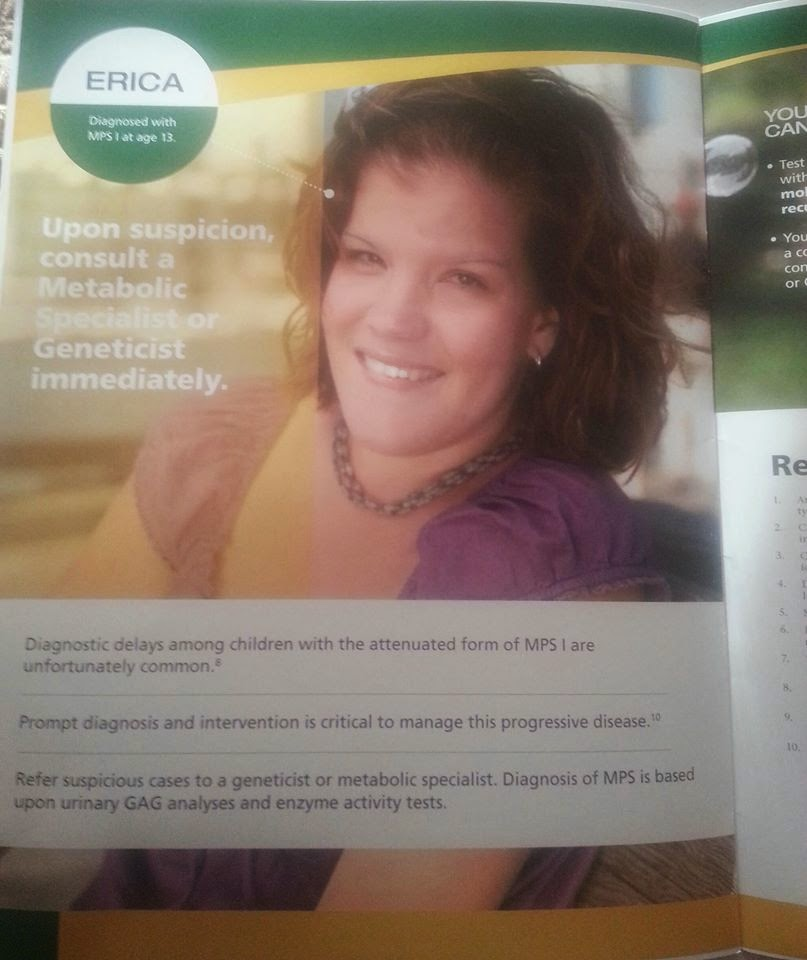 Genzyme MPS I, Educt'l Brochure