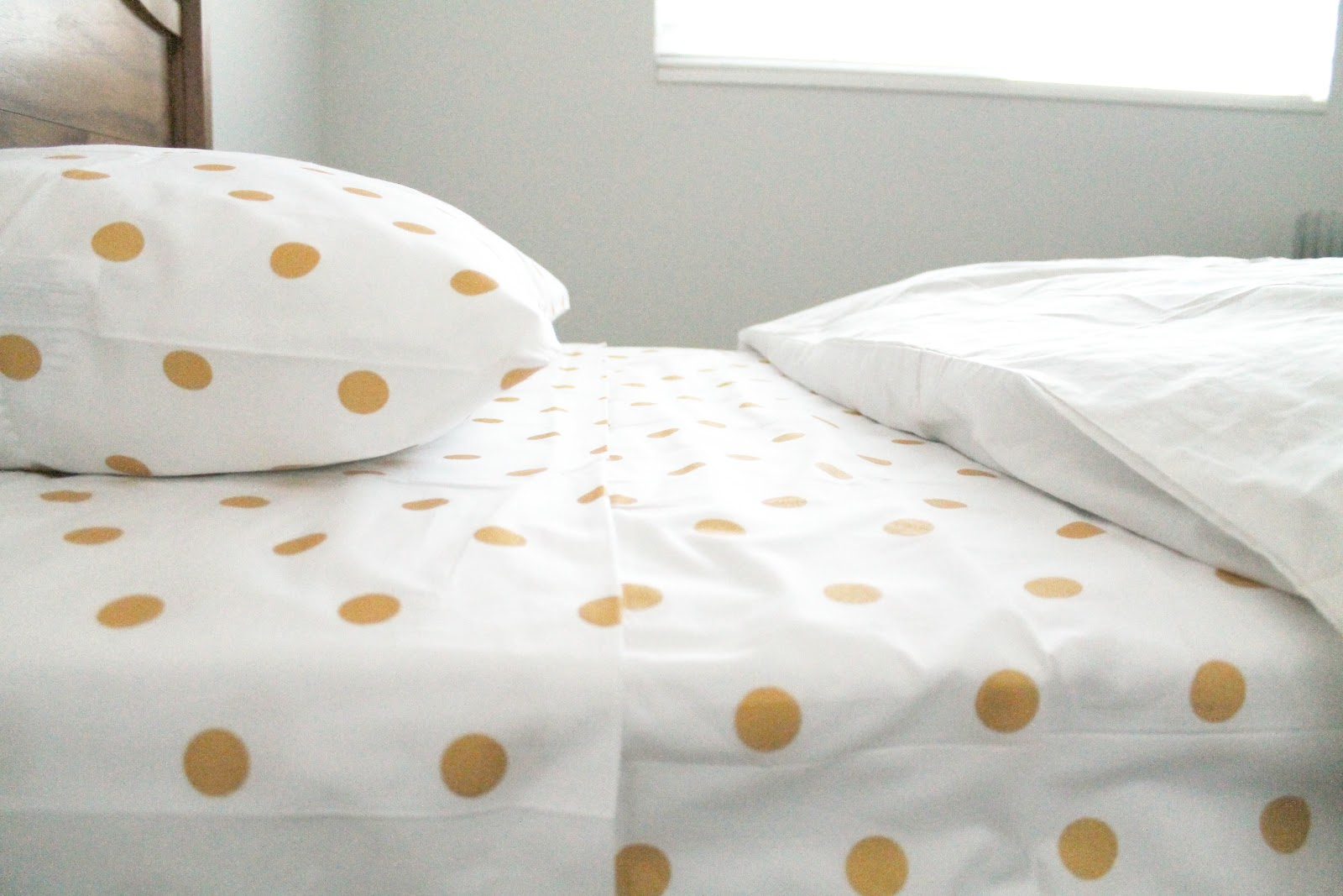 Incroyable The Bed (And Gold Dot Sheets) Has Landed.
