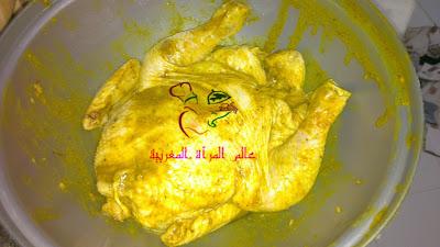521797 609266615768884 1555610101 n بالـــصــــور : طريقة عمل دجاج محمر بمذاق دجاج الأعراس