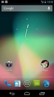 Tampilan Android 4.1-4.3.1