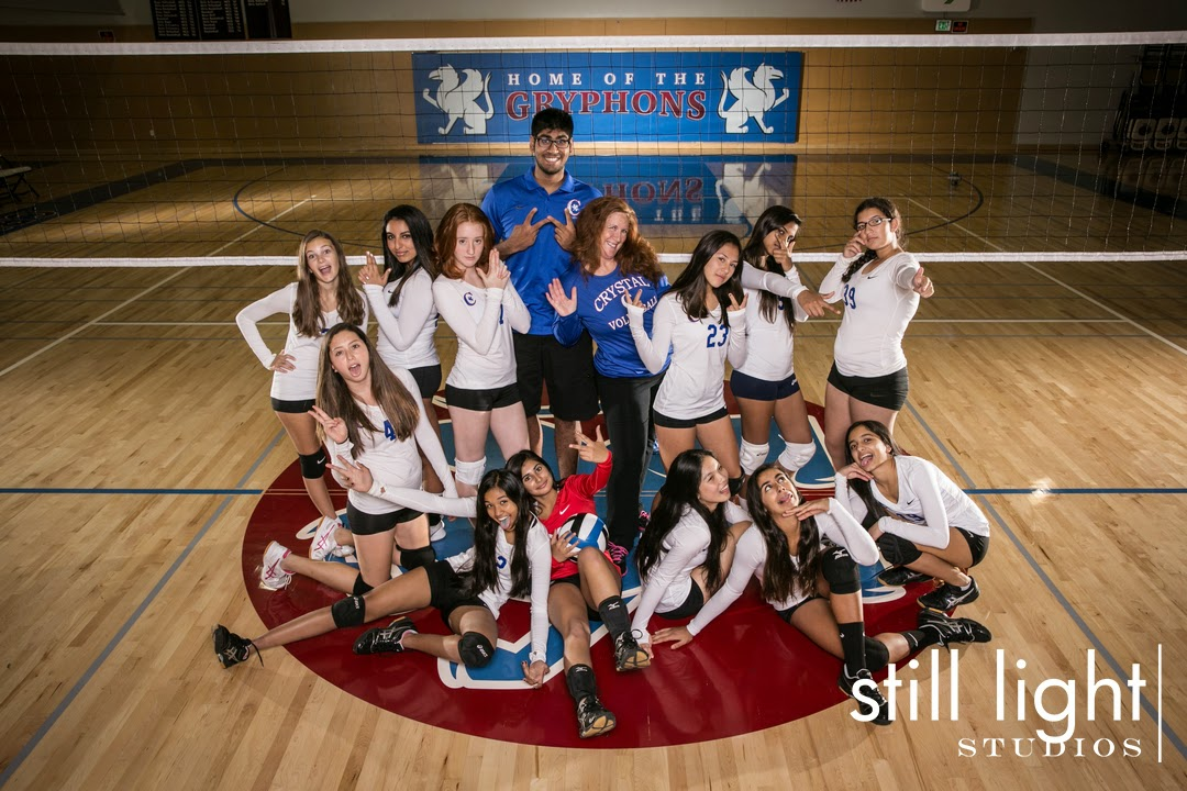 Hillsborough Crystal Springs Uplands Women Volleyball Team Photo by Still Light Studios, School Sports Photography and Senior Portrait in Bay Area, cinematic, nature