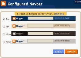 google blogs tips cara menghilangkan navbar navigation bar navbar ...