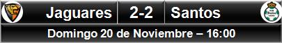 (5) Jaguares 2-2 Santos (4)