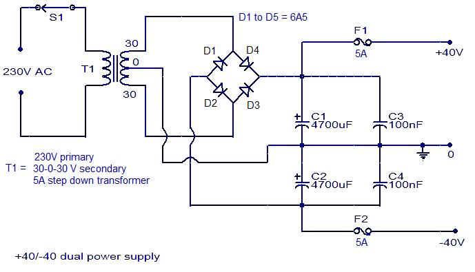 Simple 150w Amplifier Circuit Diagram Circuits Diagram Lab