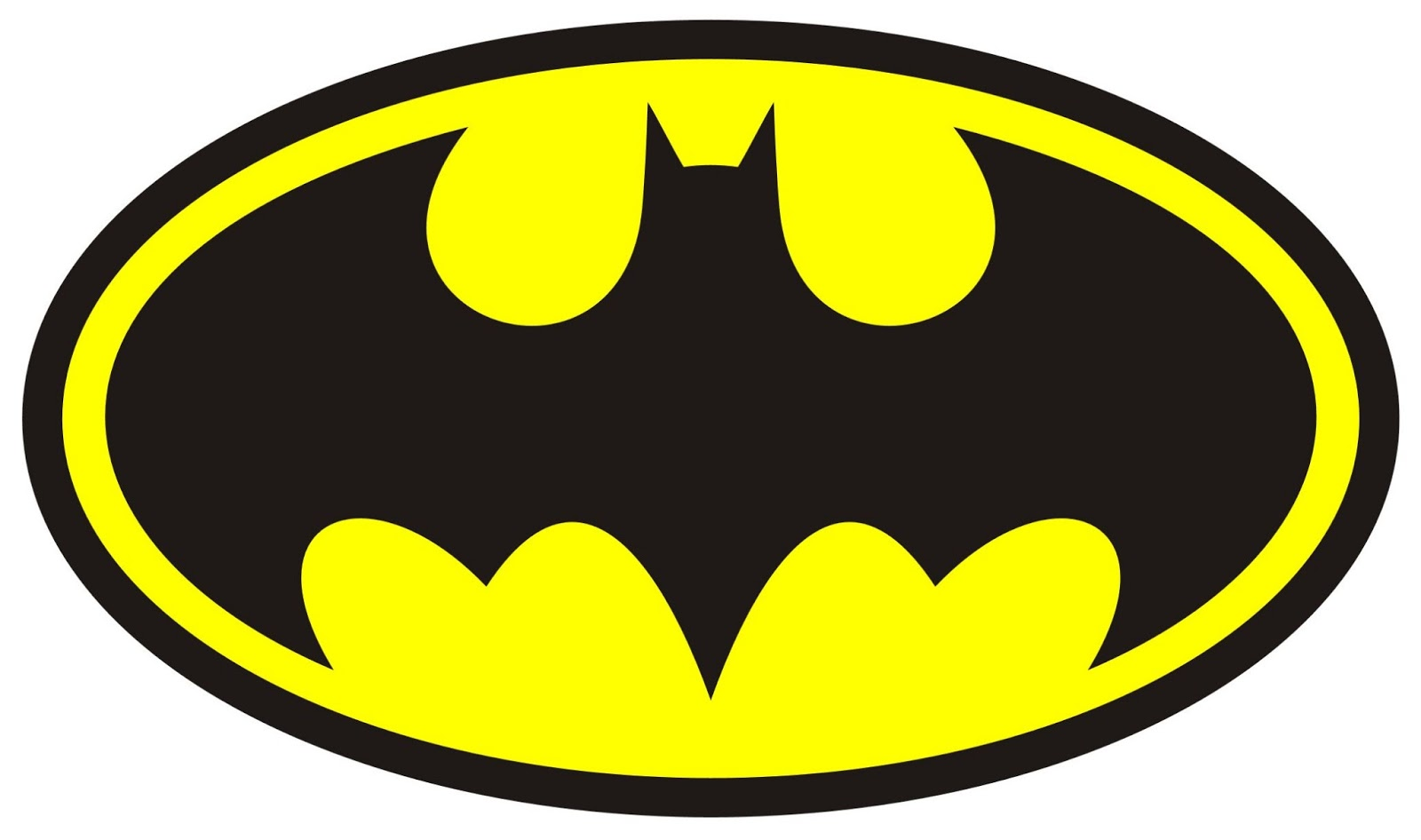 Batman Logo 6 7 8