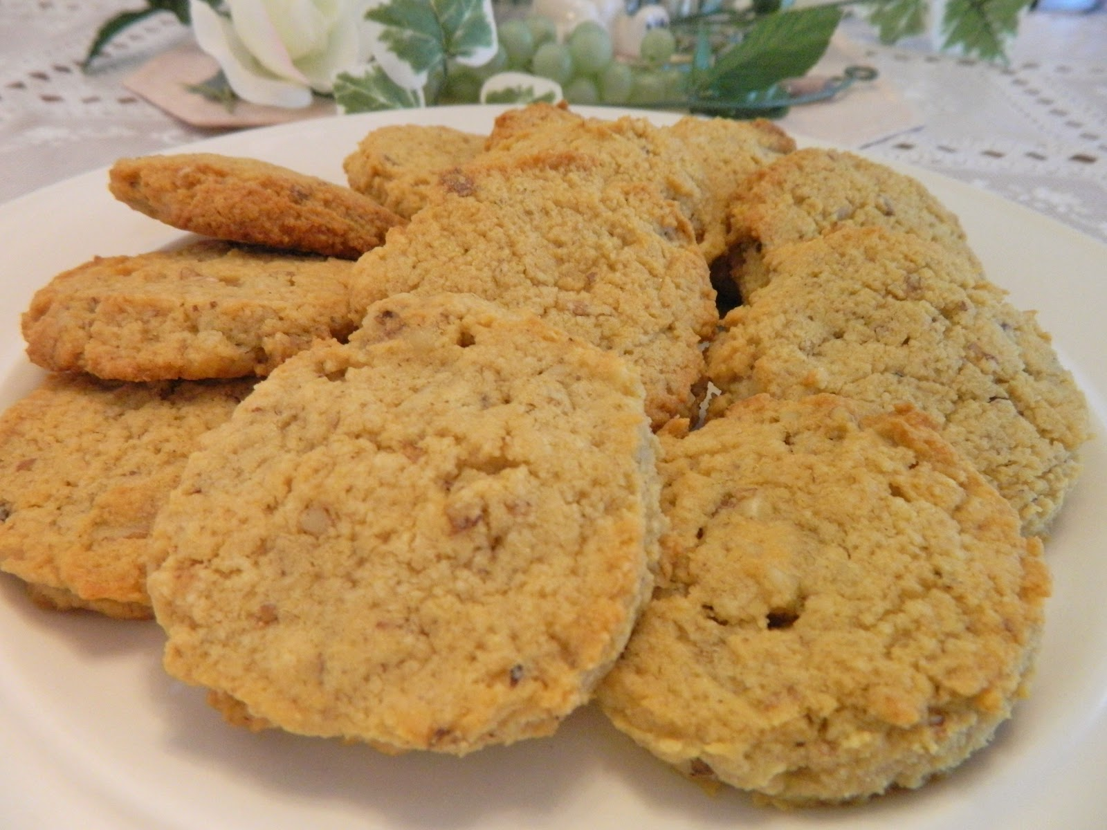 Ginny's Low Carb Kitchen: Orange Cream Cookies