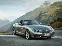 2012 BMW Zagato Roadster Concept car pictures 1