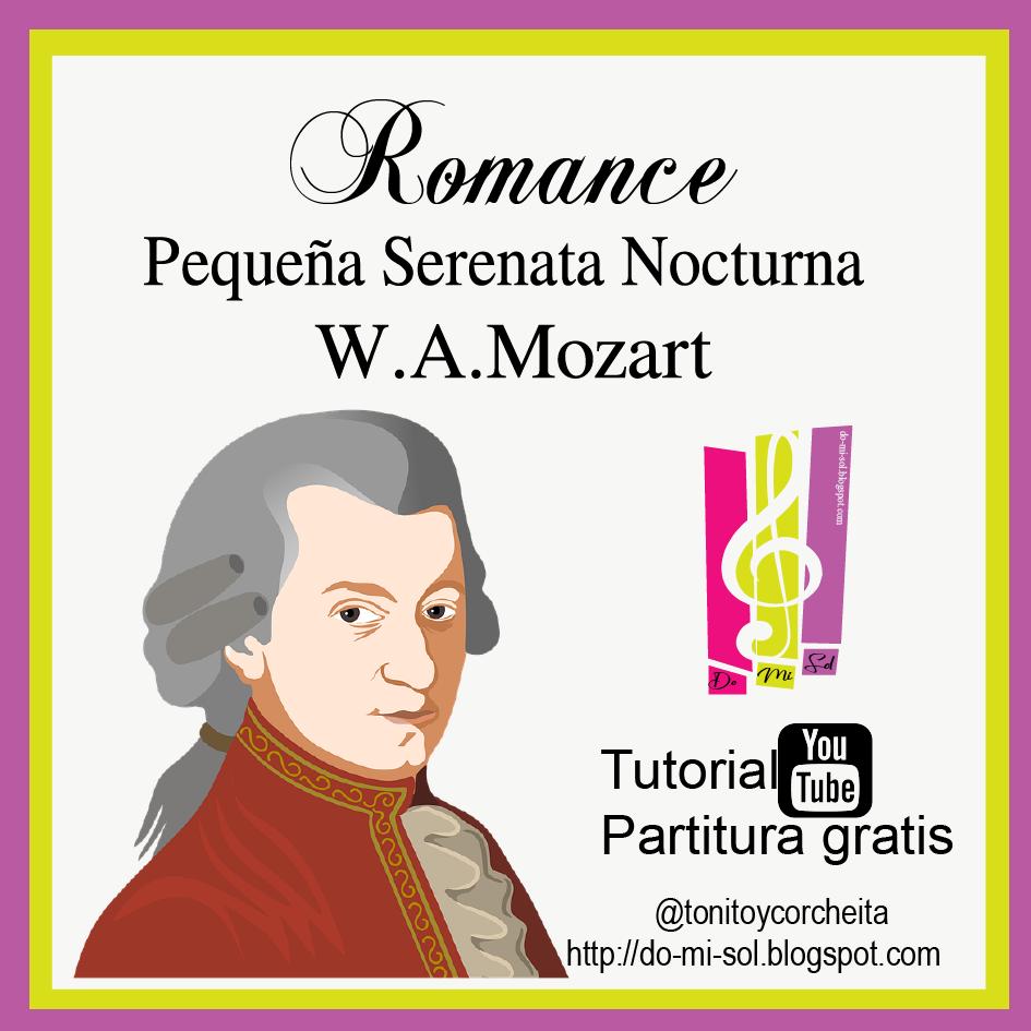 Video-Partitura Mozart