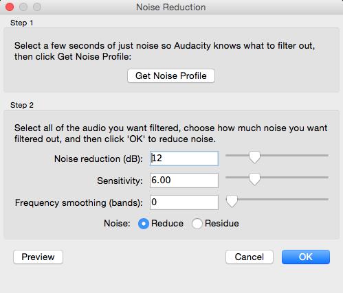 Menghilangkan noise